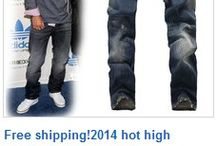 MENS JEANS / Top Sale 2015 Skinny Denim designer jeans for men