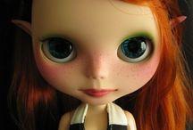 Blythe dolls / Retro fashion doll