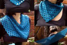 Accesorios telas / Bufandas, chales, pashminas, pañoletas y demás accesorios para mujeres y niñas elaborados en tela.