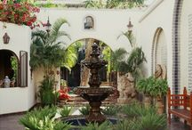 Courtyards / beautiful ideas for a courtyard
