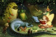Fantastic Fantasy / by Miriam Baer