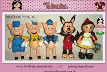 PERSONAGENS DE HISTÓRIAS INFANTIS