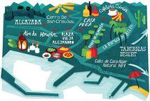 Carte - Carnet de voyages