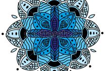 Stock images - patterns - my works / Vector patterns made by me