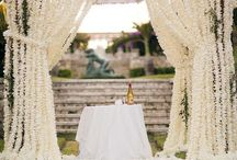 Backdrops / Inspiration for Wedding and Portrait backdrops