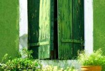 Green / Environmental and harmonious