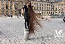 Hair videos pinterest