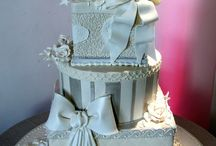 торт коробки свадебные