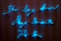 Neon sign art