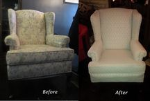 Upholstery projects / Chairs, sofas, ottomans