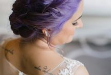 Ultra Violet & Rich Purple Wedding Inspiration / Wedding ideas inspired by Pantone's colour of the year - Ultra Violet. Combining rich violets and purple tones.