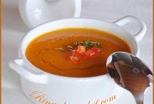 Суп из тыквы с перцем