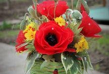Kwiatowe kompozycje i drzewka dekoracyjne