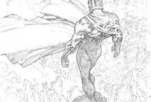 Comics drawings
