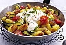 Unser beliebtes Rezept für Gnocchi-Zucchini-Pfanne