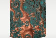 Shower Curtains / These shower curtains will add a snazzy flare to your bathroom decor!