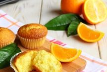 Muffin con arancia