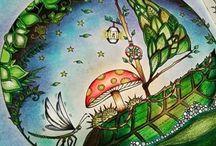 Floresta Encantada - Barco / Enchanted Forest - Leaf Boat