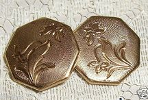 GORGEOUS GOLD FILLED VICTORIAN CUFFLINKS
