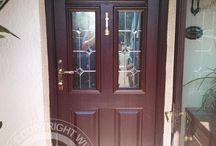 Solidor - Golden Oak Timber Composite Doors /  Solidor Timber Composite Doors #compositedoors #compositedoors #solidorcompositedoor #timbercompositedoors