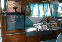 Vintage Trailer Ideas / by Kimmy Kupcakes