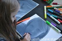 Kindergarten artist study