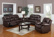 Real Leather Sofas / Sofa Bargains also offer a wide range of Real leather sofa's. Easily cleaned and hard wearing, take a look at our board to see how stylish they are.
