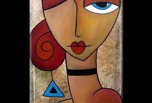 Naiset po.maalaukset