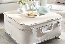 Shabby chic / White old