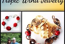 TropicWindJewelry.Etsy.Com / Jewelry that reflects the feelings and emotions of the beach...carefree days, breezy and balmy nights!