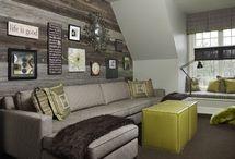 Bonus room ideas / by Kelly Cobb
