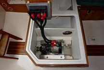 Elektirikli deniz motorları