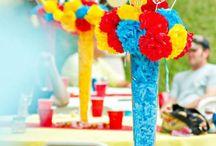aniversário infantil tema carnaval