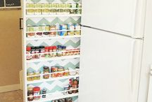 Storage / Beside fridge rack