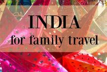 INDIA FAMILY TRIPS | INSPO / India family travel ideas and inspiration.