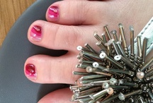 Pretty Nails and Piggies! / Beautiful nails done by Patti!