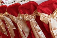 Red Bows - Chair Covers