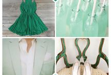 Color: Emerald and mint / by Inge Jong
