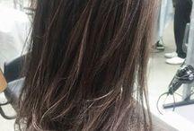 髪型 ヘアカラー