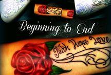 Tattoos / Mine for life...