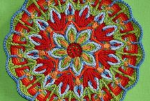 CROCHET - Paid Patterns Crocheted Mandalas / I have to make this board because I want you to see all the lovely designs for Mandalas by CAROcreated :) I will include other mandalas (paid patterns) from other designers too :) / by Oombawka Design
