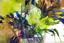 Malen Pflanzenfarben