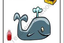 ballena alfabeto