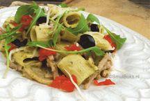 Pasta's en pizza's / De meest heerlijke recepten voor pasta's en pizza's #pasta #recepe #pizza #food