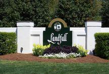 Places: Country Club of Landfall - Wilmington, NC 28405 / All things Landfall - #wilmington #ilm #landfall #YOURrealtor #aimeefreeman #kw #kellerwilliams - www.SellingWilmingtonHomes.com