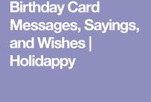 Sayings for cards