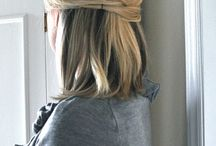 Hair-do's that I can't do but wish I could