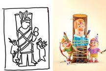 Diseño Gráfico / Afiches, Imágenes, Gifts, todo lo inclinado al diseño visual en 2D.