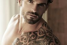 Inspiration for Kindred heroes / Pictures of hot guys who look like the different heroes of my Kindred books.