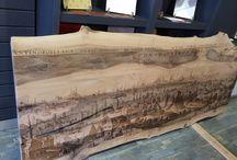 WoodNLife / Ahşap Üzerinde Tasarımsal Atraksiyonlar .)